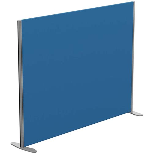Sprint Eco Freestanding Privacy Acoustic Screen Straight Top W1600xH1200mm Blue - With Stabilising Feet