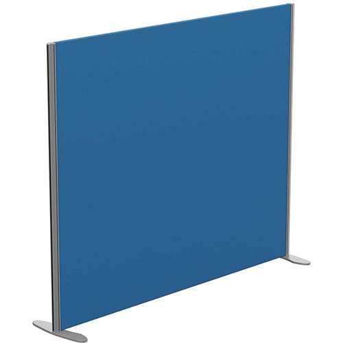 Sprint Eco Freestanding Privacy Acoustic Screen Straight Top W1600xH1300mm Blue - With Stabilising Feet