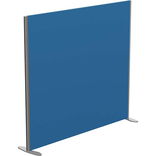 Sprint Eco Freestanding Privacy Acoustic Screen Straight Top W1600xH1400mm Blue - With Stabilising Feet