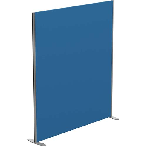 Sprint Eco Freestanding Privacy Acoustic Screen Straight Top W1600xH1800mm Blue - With Stabilising Feet