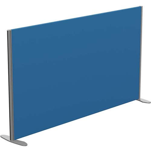 Sprint Eco Freestanding Privacy Acoustic Screen Straight Top W1800xH1000mm Blue - With Stabilising Feet