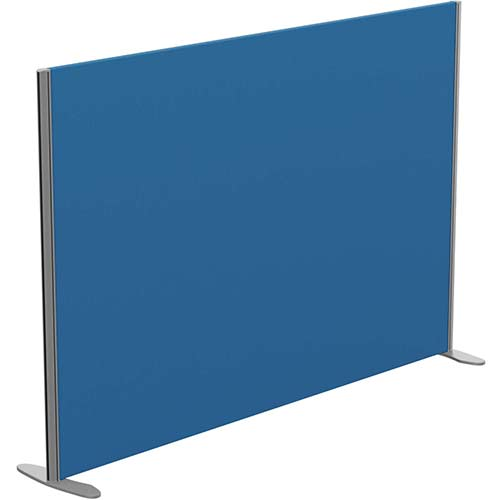 Sprint Eco Freestanding Privacy Acoustic Screen Straight Top W1800xH1200mm Blue - With Stabilising Feet