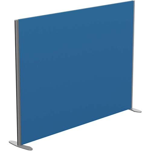 Sprint Eco Freestanding Privacy Acoustic Screen Straight Top W1800xH1300mm Blue - With Stabilising Feet