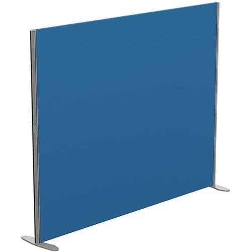 Sprint Eco Freestanding Privacy Acoustic Screen Straight Top W1800xH1400mm Blue - With Stabilising Feet