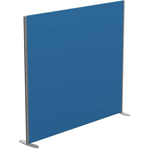 Sprint Eco Freestanding Privacy Acoustic Screen Straight Top W1800xH1600mm Blue - With Stabilising Feet