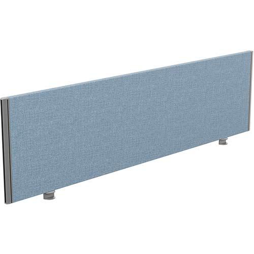 Sprint Eco Office Desk Screen Straight Top W1800xH480mm Light Blue