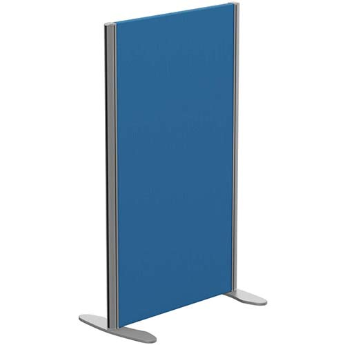 Sprint Eco Freestanding Privacy Acoustic Screen Straight Top W600xH1000mm Blue - With Stabilising Feet