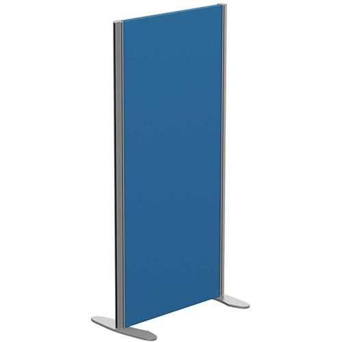 Sprint Eco Freestanding Privacy Acoustic Screen Straight Top W600xH1200mm Blue - With Stabilising Feet
