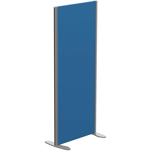 Sprint Eco Freestanding Privacy Acoustic Screen Straight Top W600xH1400mm Blue - With Stabilising Feet