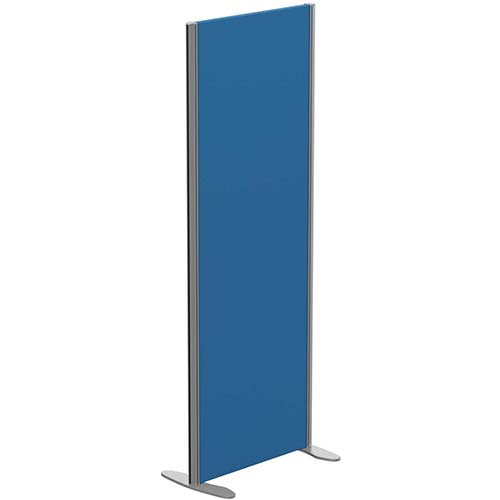 Sprint Eco Freestanding Privacy Acoustic Screen Straight Top W600xH1600mm Blue - With Stabilising Feet
