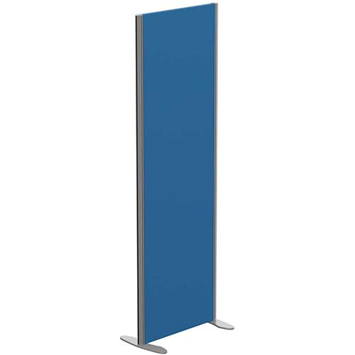 Sprint Eco Freestanding Privacy Acoustic Screen Straight Top W600xH1800mm Blue - With Stabilising Feet