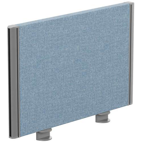 Sprint Eco Office Desk Screen Straight Top W600xH380mm Light Blue