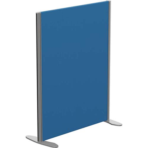 Sprint Eco Freestanding Privacy Acoustic Screen Straight Top W800xH1000mm Blue - With Stabilising Feet