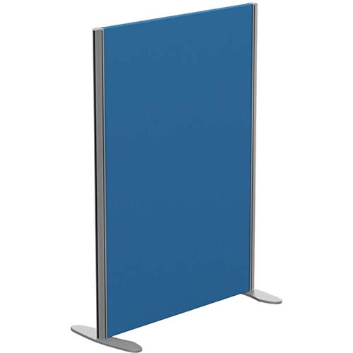 Sprint Eco Freestanding Privacy Acoustic Screen Straight Top W800xH1100mm Blue - With Stabilising Feet
