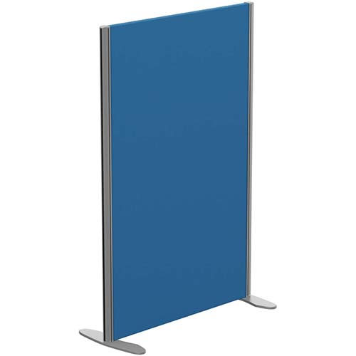 Sprint Eco Freestanding Privacy Acoustic Screen Straight Top W800xH1200mm Blue - With Stabilising Feet