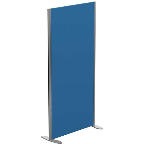 Sprint Eco Freestanding Screen Privacy Acoustic Straight Top W800xH1600mm Blue - With Stabilising Feet