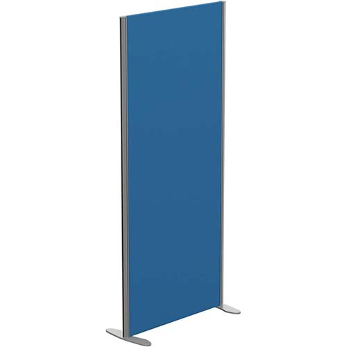 Sprint Eco Freestanding Screen Privacy Acoustic Straight Top W800xH1800mm Blue - With Stabilising Feet