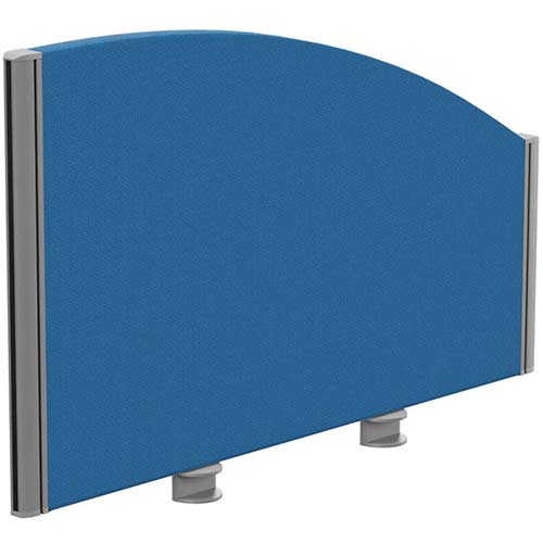Sprint Eco Office Desk Screen Curved Top W800xH480-280mm Blue