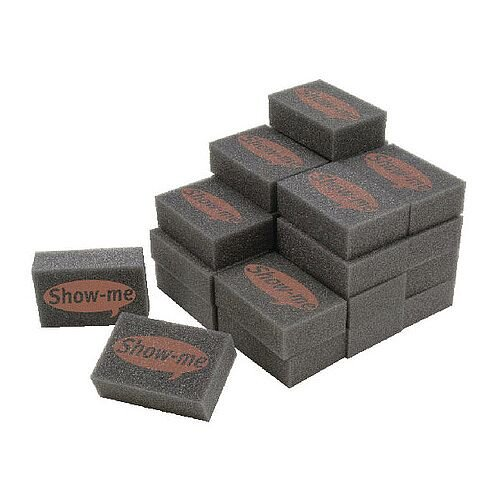 Show-me Mini Foam Board Eraser Pack of 35 MFE35