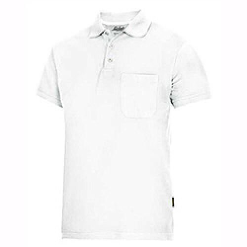 Snickers Classic Polo Shirt White Size: L