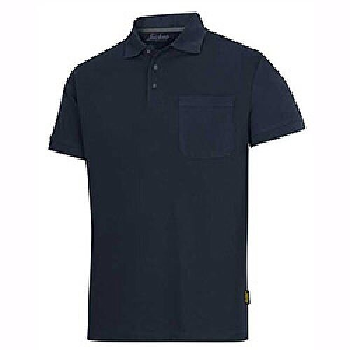 Snickers Classic Polo Shirt Navy Size: XXL