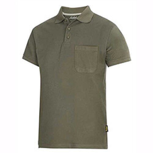 Snickers Classic Polo Shirt Green Size: XXL