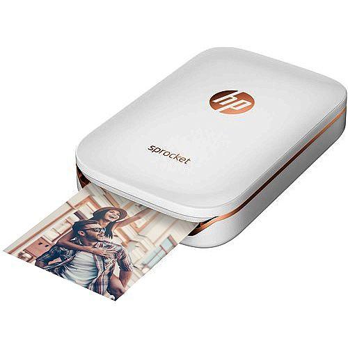 HP Sprocket Photo Colour Printer Bluetooth White X7N07A