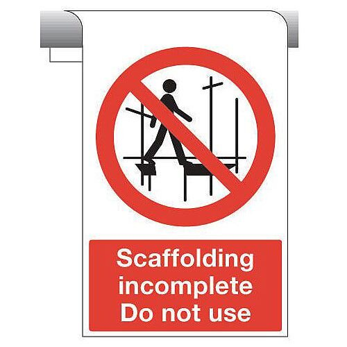 Sign Scaffolding Incomplete 450X600 Aluminium