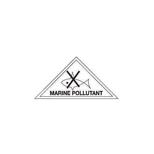 ADR RID IDGM IATA &ICAO hazardous substance sign label Marine pollutant HxW 100x100mm