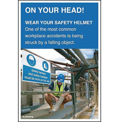 Poster On Your Head 510x750 Laminated