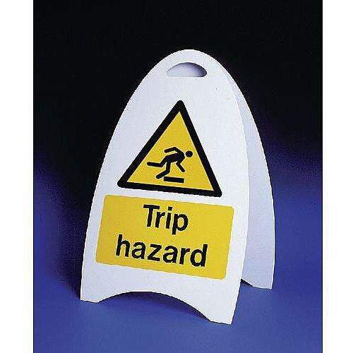Free Standing Sign Trip Hazard