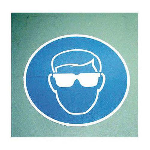 Sign Eye Protection Pic 400x400 Floor Vinyl
