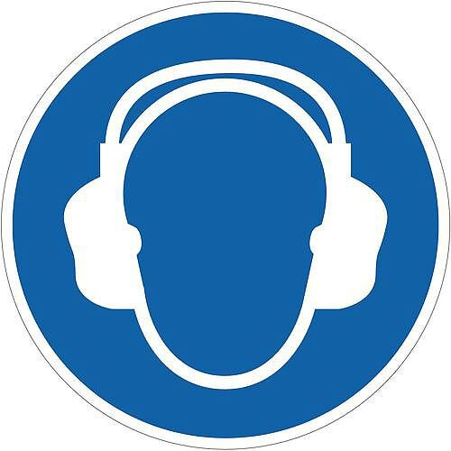 Sign Ear Protection Pic 400x400 Floor Vinyl
