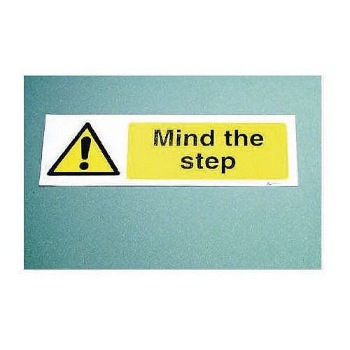 Sign Mind The Step Graphic 300x100 Floor Vinyl