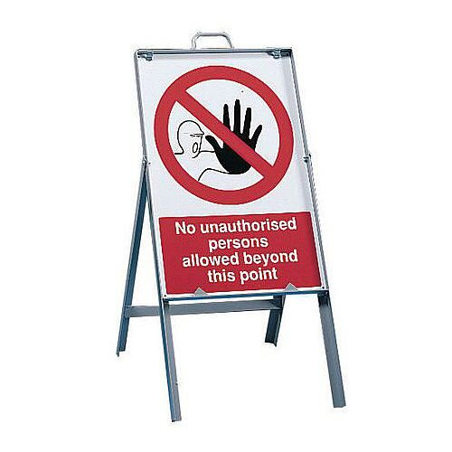 Free Standing Sign Frame 820mm High