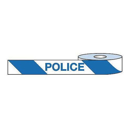 Non-Adhesive Barrier Tape Police 75mm x 250m