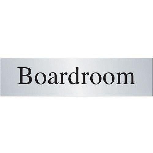 Brass Prestige Range Sign Boardroom