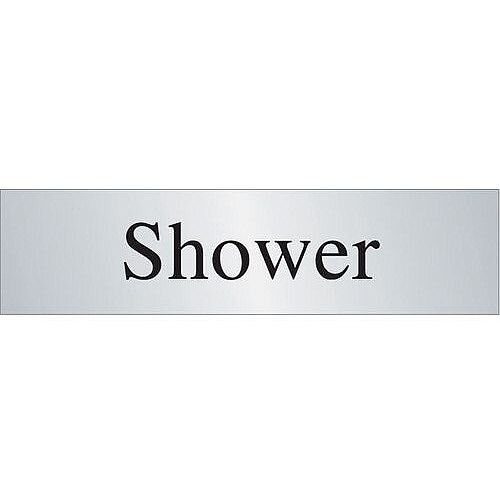 Stainless Steel Prestige Range Sign Shower