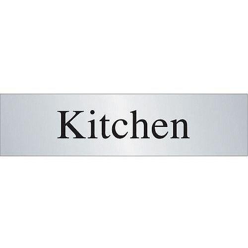 Brass Effect Prestige Range Sign Kitchen