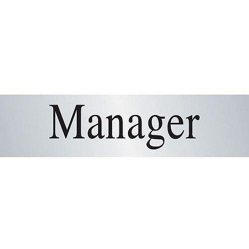 Brass Effect Prestige Range Sign Manager