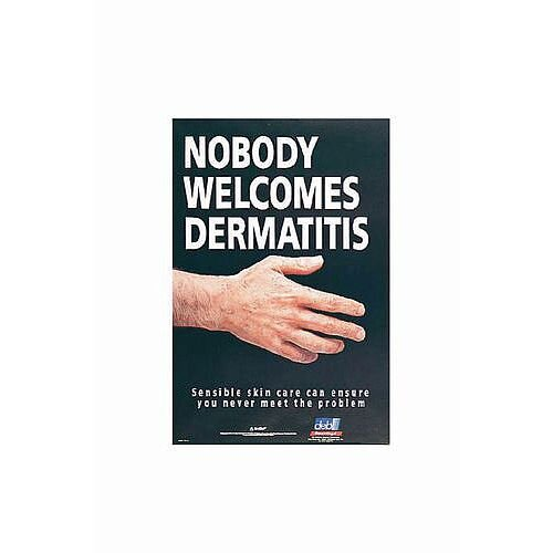 Sign Nobody Welcomes Dermatitis 760X510 Paper