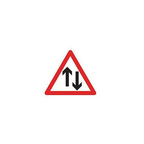 Regulatory Traffic Sign Two Way Traffic Class 2