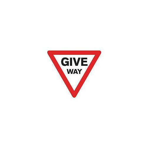 Regulatory Traffic Sign Give Way Class 2