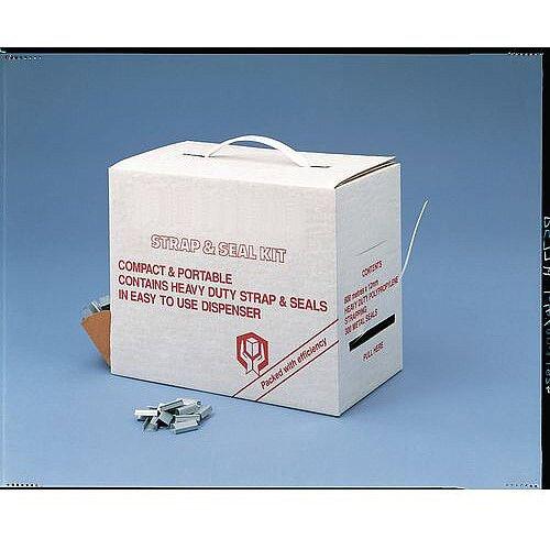 Polypropylene Strap &Seal Dispensing Box Kit
