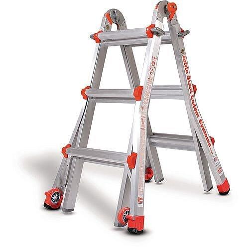 Aluminium Multipurpose Telescopic Ladder  3 Rung Per Section 3040Mm Extended Height