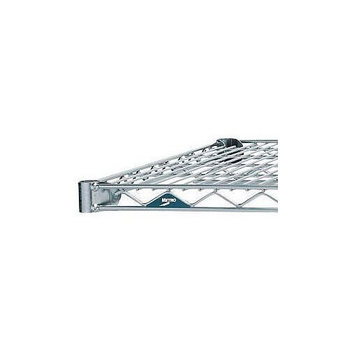 356mm Deep 762mm Wide Extra Shelf for Olympic Chrome Wire Shelving System