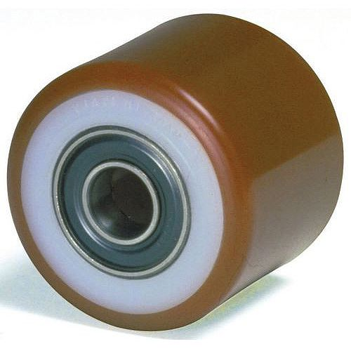 Pallet Truck Rollers - Steel Centre, Polyurethane Tyre Load Capacity kg: 800