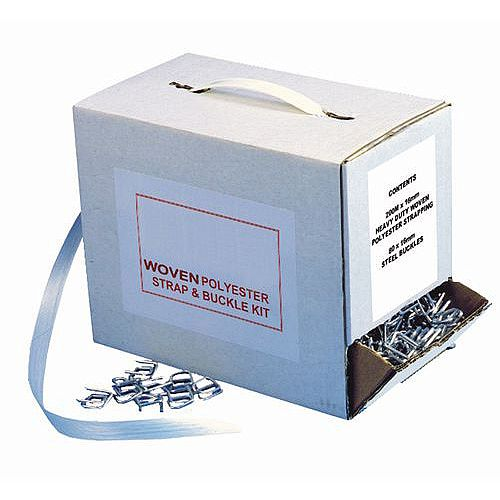 Woven Polyester Strapping And Buckle Dispenser Kit