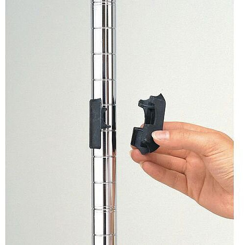 Super Erecta Chrome Wire Shelving Post 1385mm High