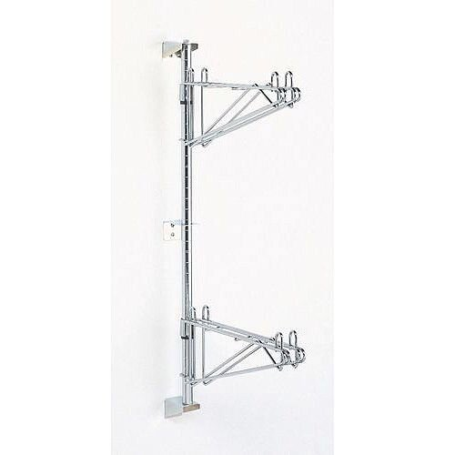 Post For Use With Wall Mounted Shelves 1370mm High